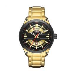 שעון לגבר CURREN זהב
