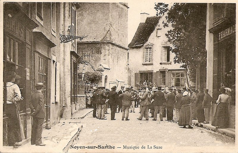 Histoire Noyen Sur Sarthe