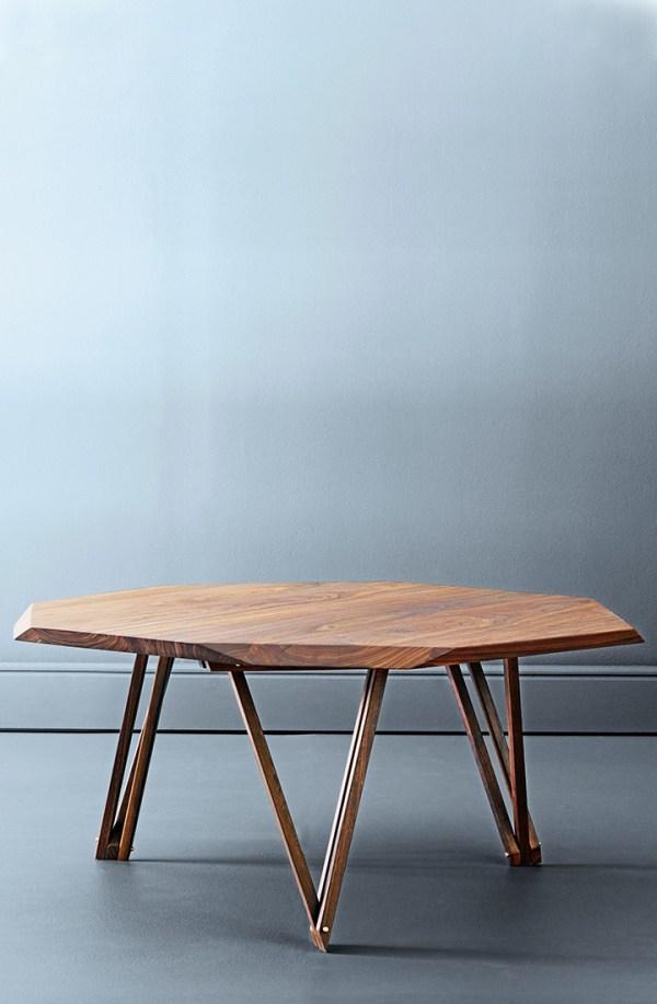 Sofabord i valnød