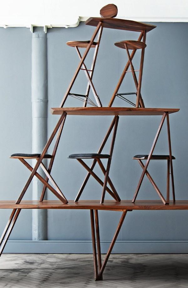 Spisebordsstole på Noyer spisebord