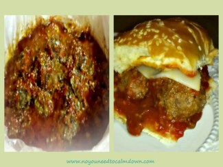 Crock Pot Meatball Hoagies