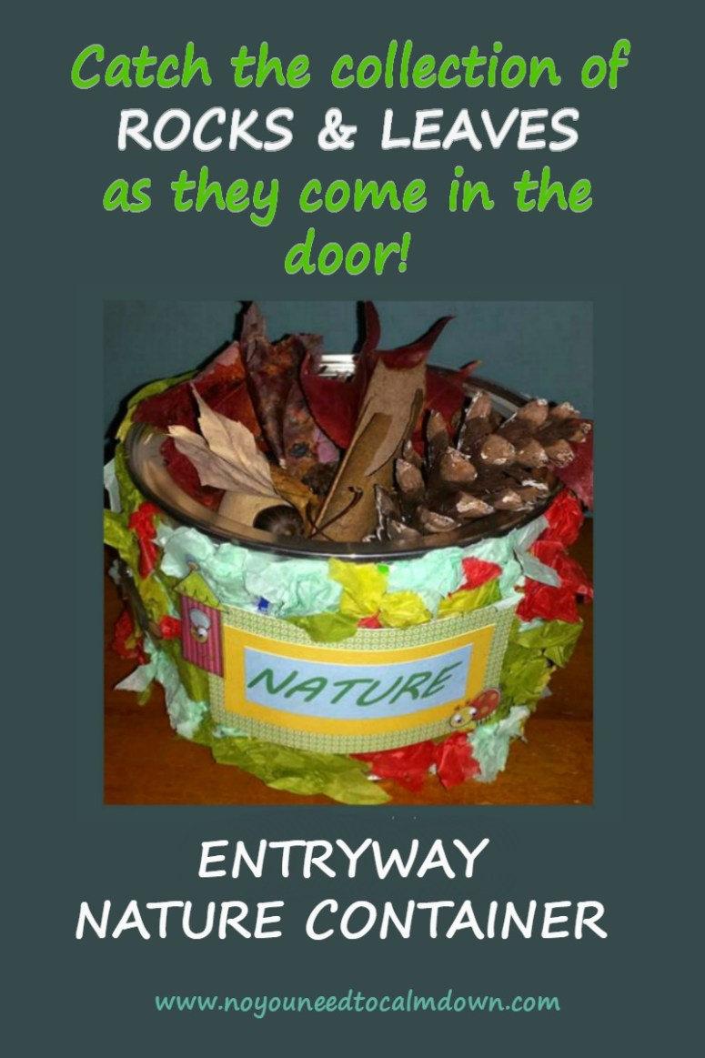 Entryway Nature Container