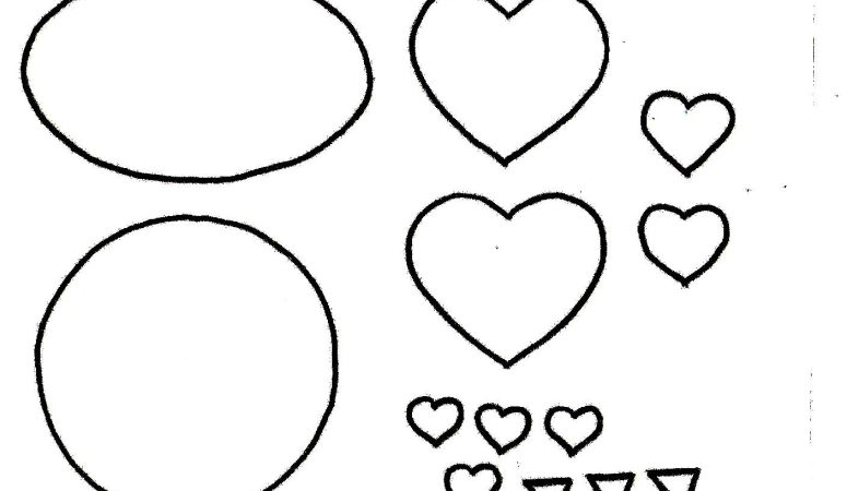 Owl Valentine Template – Free Printable