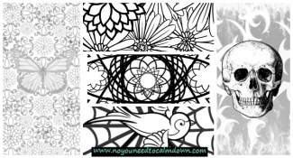 Adult Coloring Pages – Free Printables