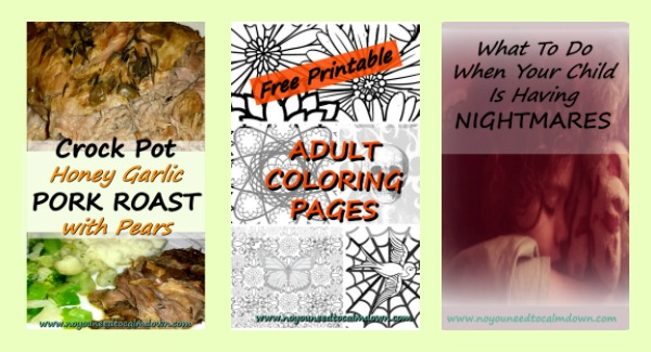 Pork Roast,Nightmares,Adult Coloring Pages – February Round Up