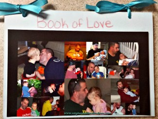 book of love valentine's day gift