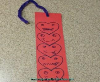 Valentine's Day Craft – Bookmark