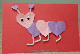 Valentine's Day Craft – Lovebug