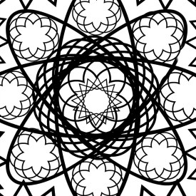 Free Printable Adult Coloring Page – Spiro