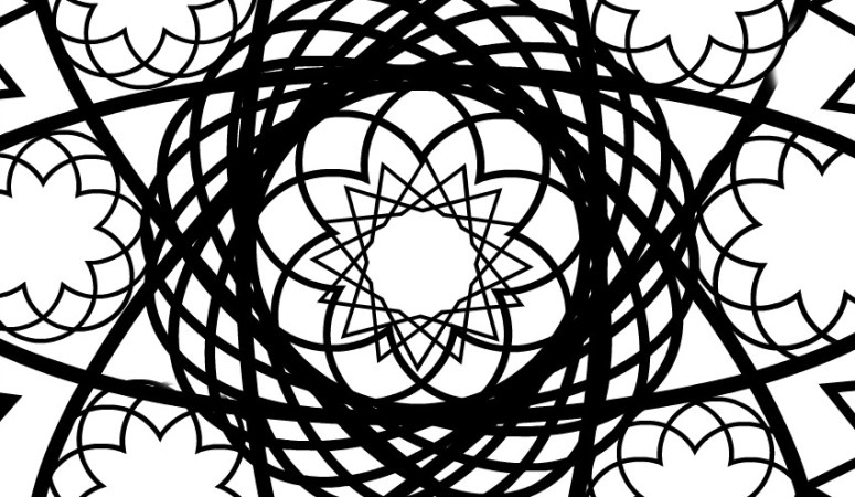 Spirocraft Adult Coloring Page