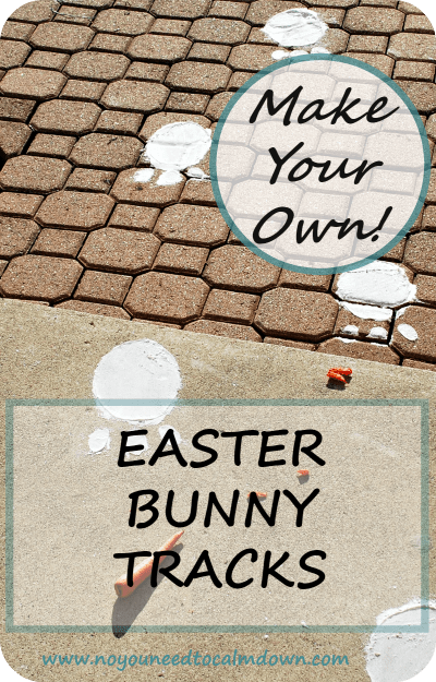 Easter Bunny Tracks