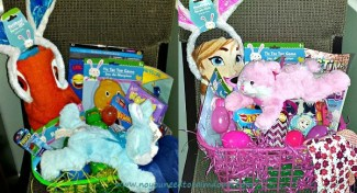 Low Candy Easter Baskets