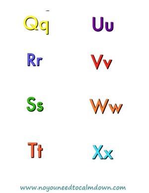 Alphabet Free Printables