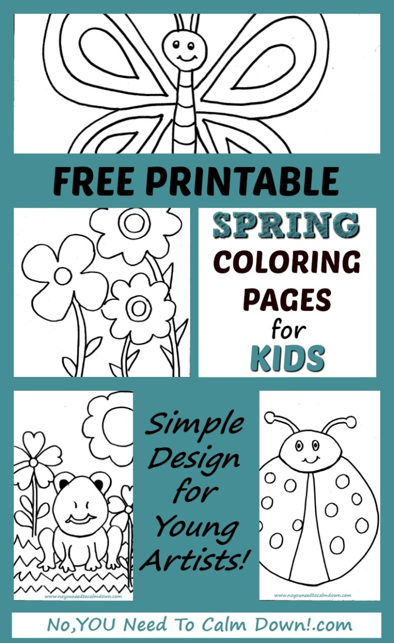 Coloring Pages Coloring Spring Beautiful Stock March Pictures