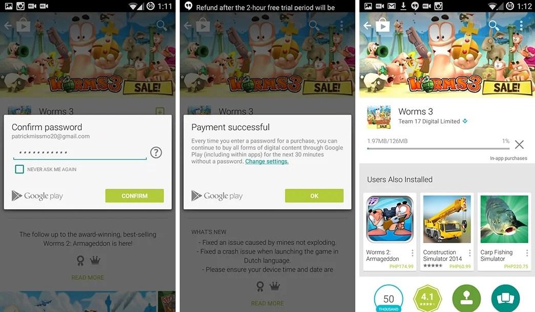 Music, Movies, Books in Google Play using Globe Postpaid