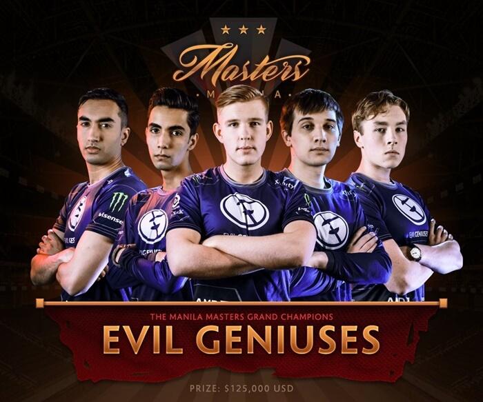 Evil Geniuses Are The Manila Masters 2017 Champions NoypiGeeks