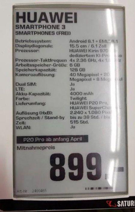Huawei-P20-full-specs