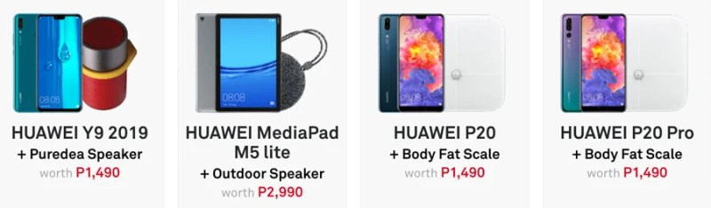 Huawei Make Snow Possible Christmas promo offers up to Php3,990 in freebies 1
