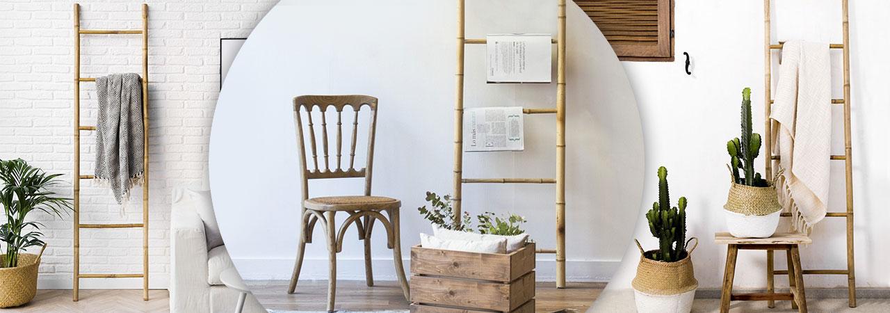 echelles en bambou pratiques et