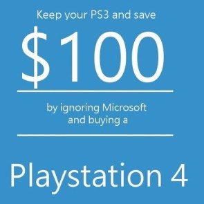 MS 100 Dollars For PS3 - Response From SOny Fans
