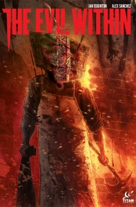 The Evil Within Comics Cover