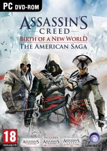 AC The maerican Saga PC Cover
