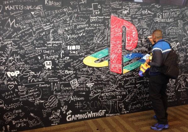PSX Signature Wall