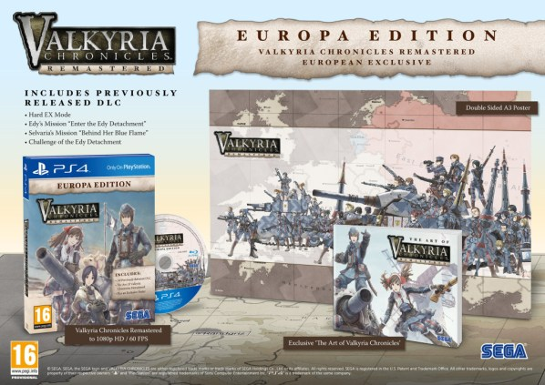 Valkyria Chronicles Europa Edition