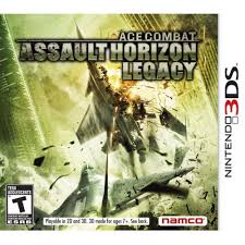 Jogo Ace Combat Assault Horizon Legacy 3DS