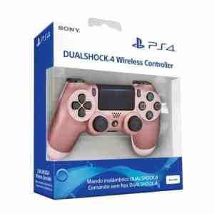 Comando Sony PS4 Dualshock Rose Gold-min