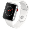 Apple Watch Series 3 42mm Stainless Steel Case Silver White Seminovo Grade A+