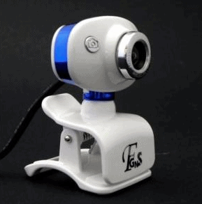 Webcam DWC Oval Azul:Branco 16MP c:Microfone