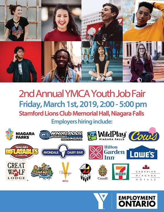 2nd Annual YMCA Youth Job Fair poster