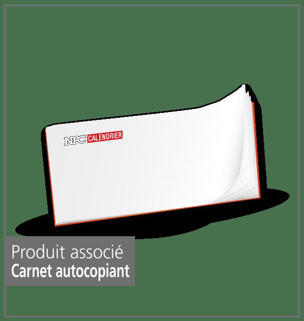 produit carnet autocopiant, calendrier sapeur-pompier, calendriers sapeurs-pompiers, npc-calendrier.fr