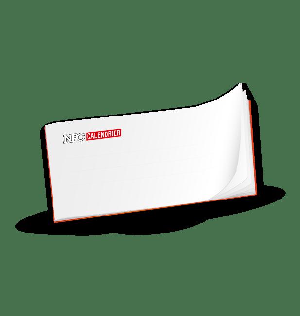 carnet autocopiant, calendrier sapeur-pompier, calendriers sapeurs-pompiers, npc-calendrier.fr