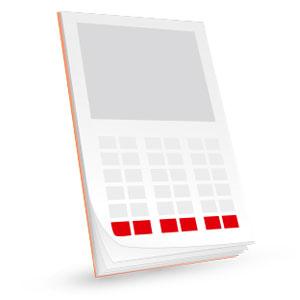 produit calendrier personnalisable de sapeur-pompier categorie eco4, npc-calendrier.fr