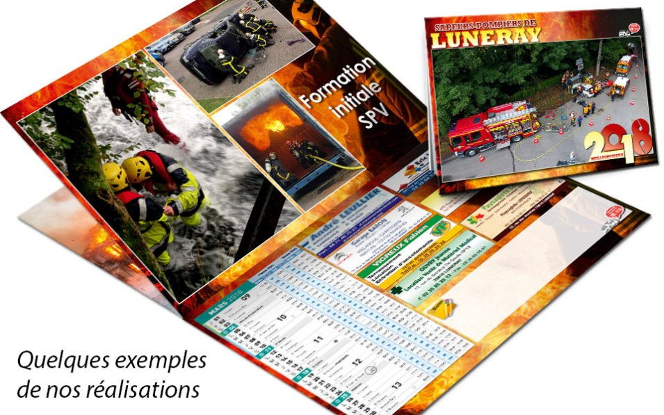 calendrier-pub2-2018-1, npc-calendrier.fr, calendrier des sapeurs-pompiers, personnalisés, personnalisables, 2018