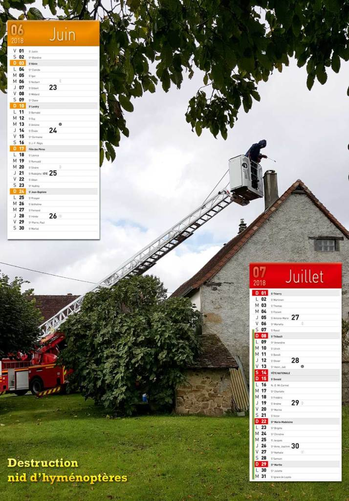 calendrier des sapeurs-pompiers de Chalus-2018-2, npc-calendrier.fr