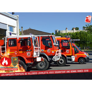 calendrier des sapeurs-pompiers de Villebois-2018-0, npc-calendrier.fr