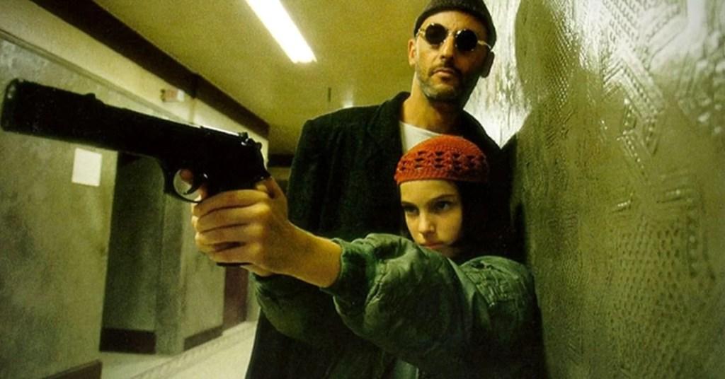 Jean Reno e Natalie Portman in una scena di Leon