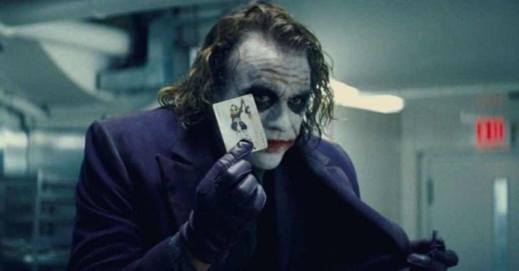 Batman serie cinematografica Heath Ledger