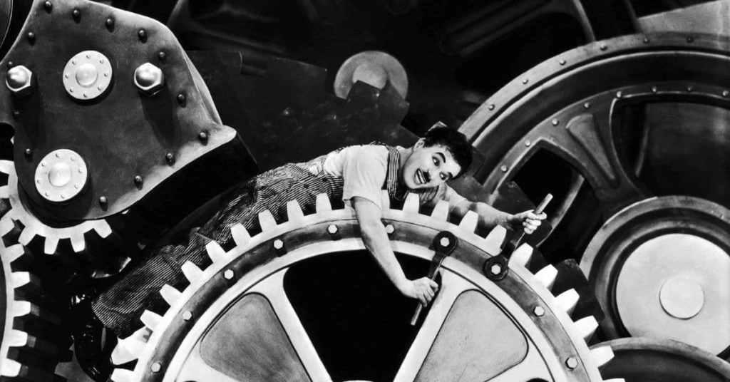 Charlie Chaplin Tempi Moderni