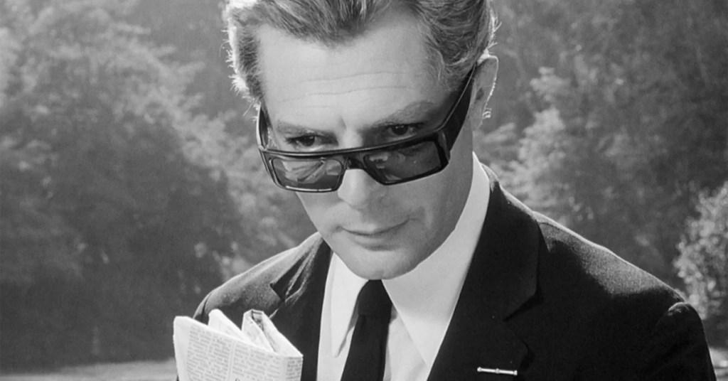 Marcello Mastroianni 8 e mezzo Federico Fellini