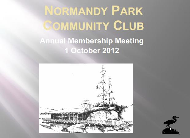 annual membership meeting 2012