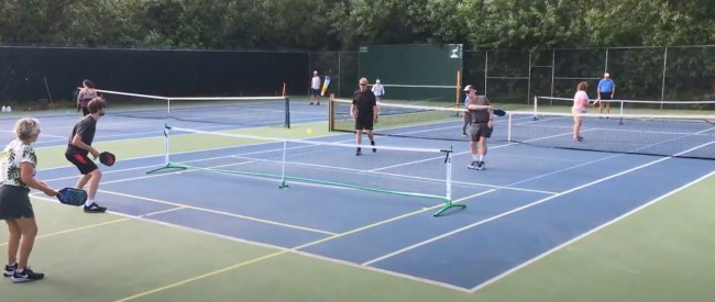 tennis pickleball