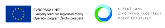 Logo Evropské unie a Operačního programu Životní prostředí