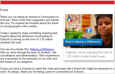 5 cis new nonprofit video to share 9 Underutilized Emails that Improve Donor Retention