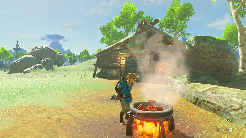 Zelda – Breath of the Wild, Il ricettario delle pozioni