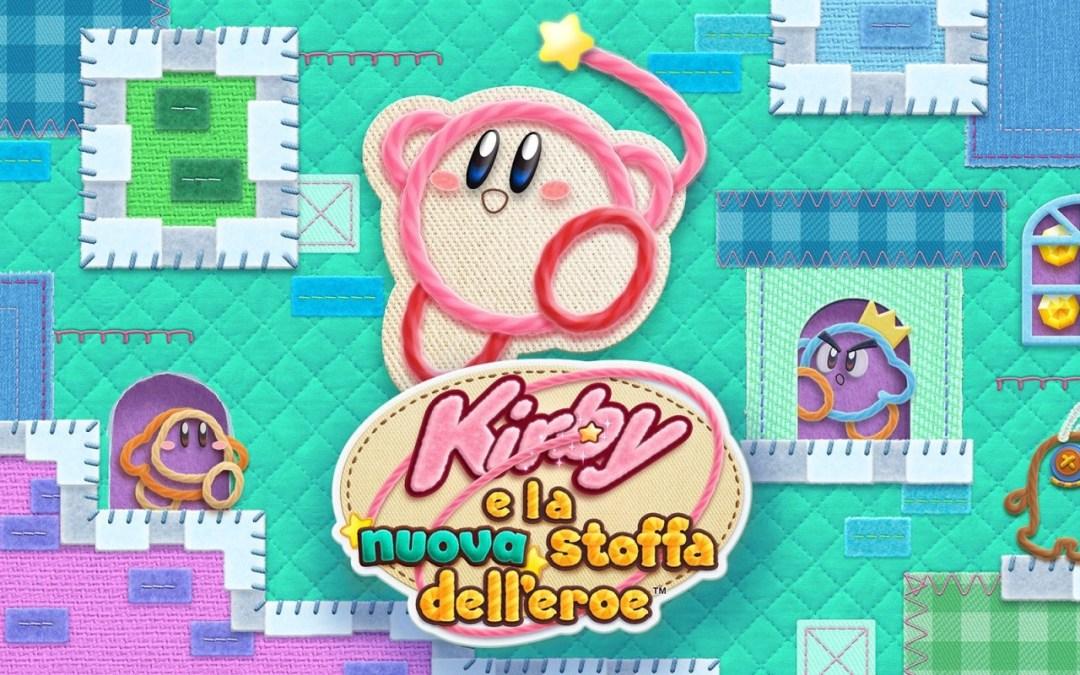 Kirby e la nuova stoffa dell'eroe, trailer di lancio e panoramica