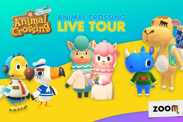 Arriva il Live Tour di Animal Crossing al Bioparco ZOOM di Torino